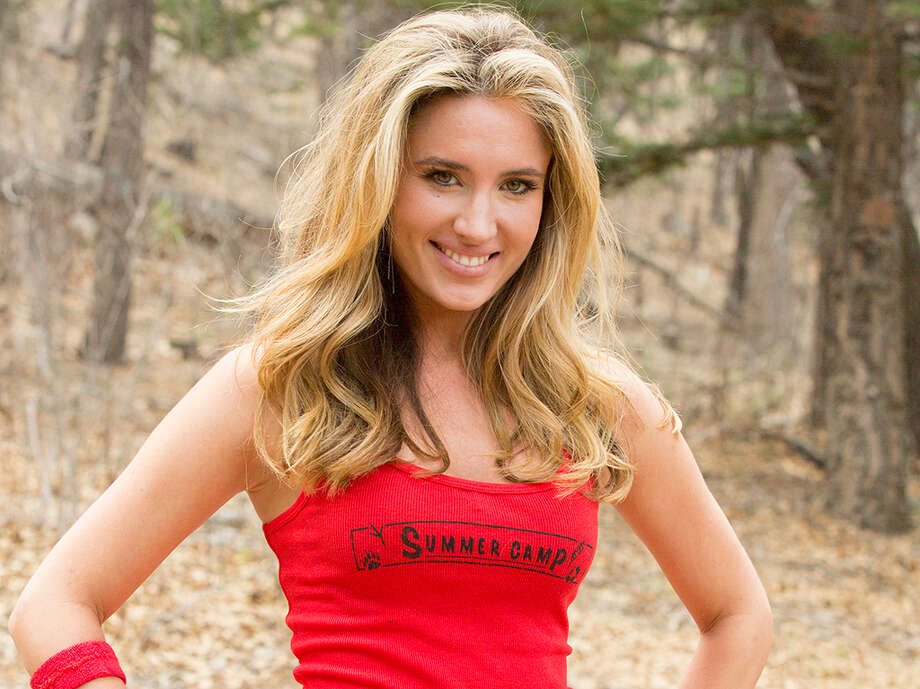 "Country singer and fitness model Meaghan Cooper is a vet of three different reality TV shows: ""I Survived a Japanese Game Show,"" ""American Idol"" and ""Summer Camp.""   Photo: USA Network"