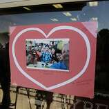 Messages left by well wishers on the front door at the Elite martial Arts Studio in Scotts Valley, Calif., on Tuesday July 9, 2013. A karate team from the Elite Martial Arts Studio were among those on board Asiana flight  214 when it crash landed at SFO on Saturday July 6, 2013.