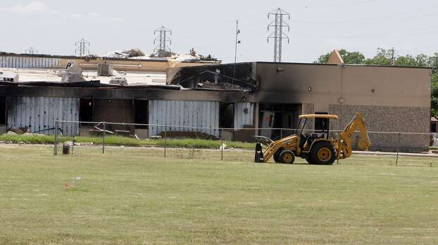 The West Intermediate School damaged by the deadly fertilizer plant explosion, Thursday, June 13, 2013, in West. Photo: Houston Chronicle