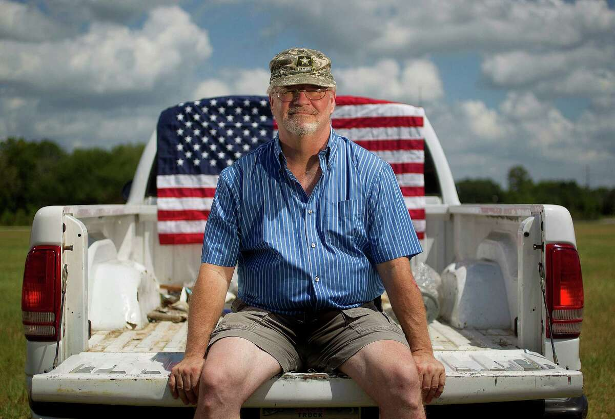 Ron Kelly, 59, served 20 years in the Army but cannot legally buy a .22-caliber rifle because of a misdemeanor from 42 years ago.