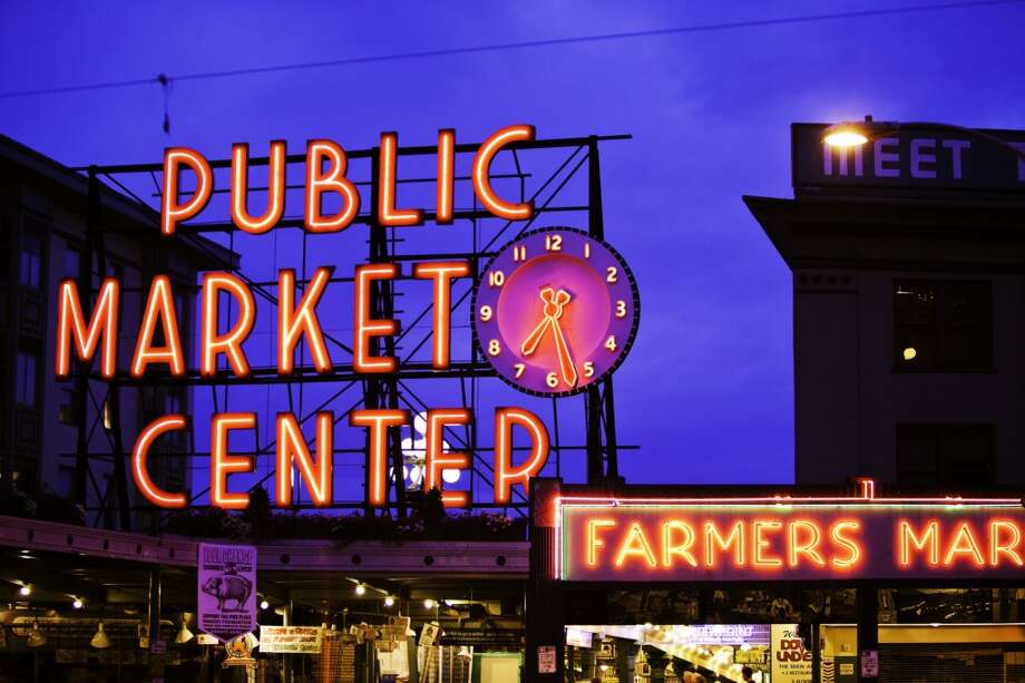 Many businesses in Pike Place Market are still open and need your support in these challenging times more than ever. Read on to find a list of the businesses that are offering grocery shopping, delivery and takeout options. Photo: Bob Stefko, Getty Images