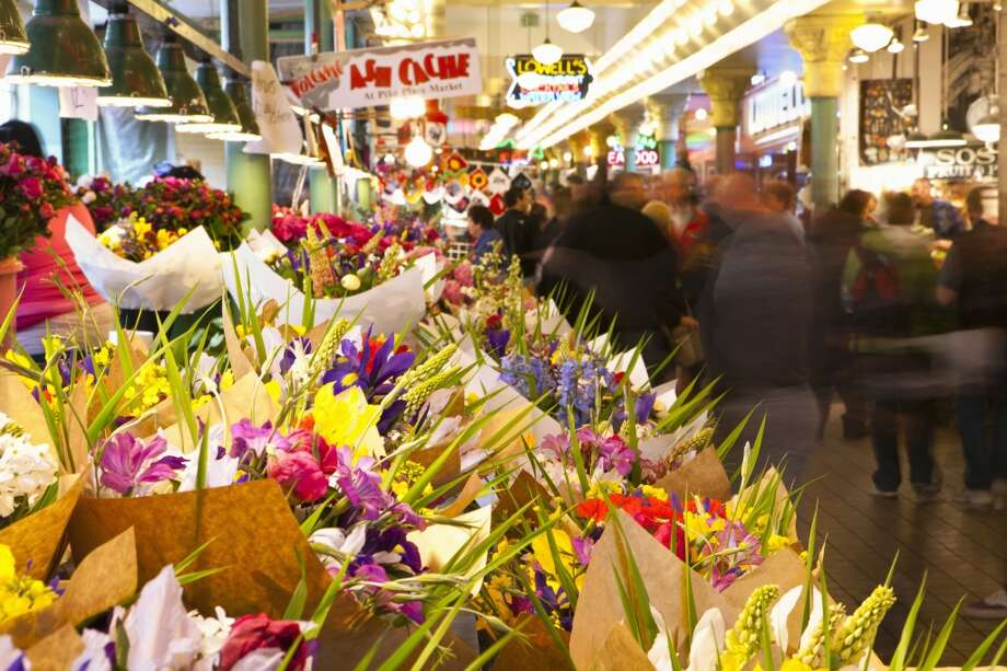 ... and ''Pike Street Market''... Photo: Danita Delimont, Getty Images/Gallo Images