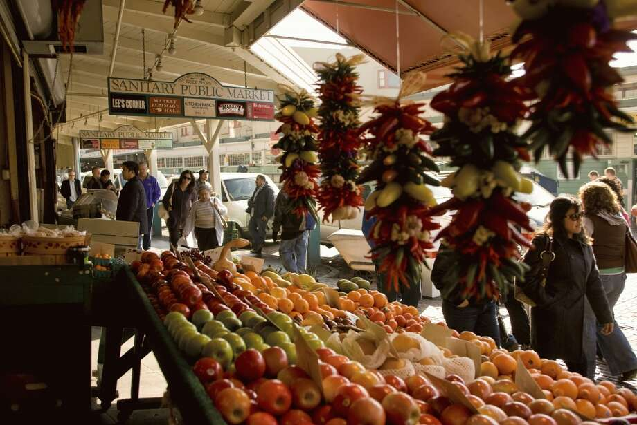 ...and ''Pike's Peak Market.'' Photo: George Rose, Getty Images