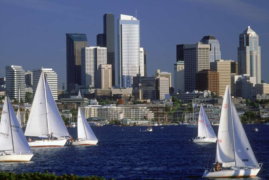 But they think Seattle is pretty, which reminds us of how lucky we are to live in such a beautiful city. So maybe they aren't so goofy after all. Photo: Jim Corwin, Getty Images