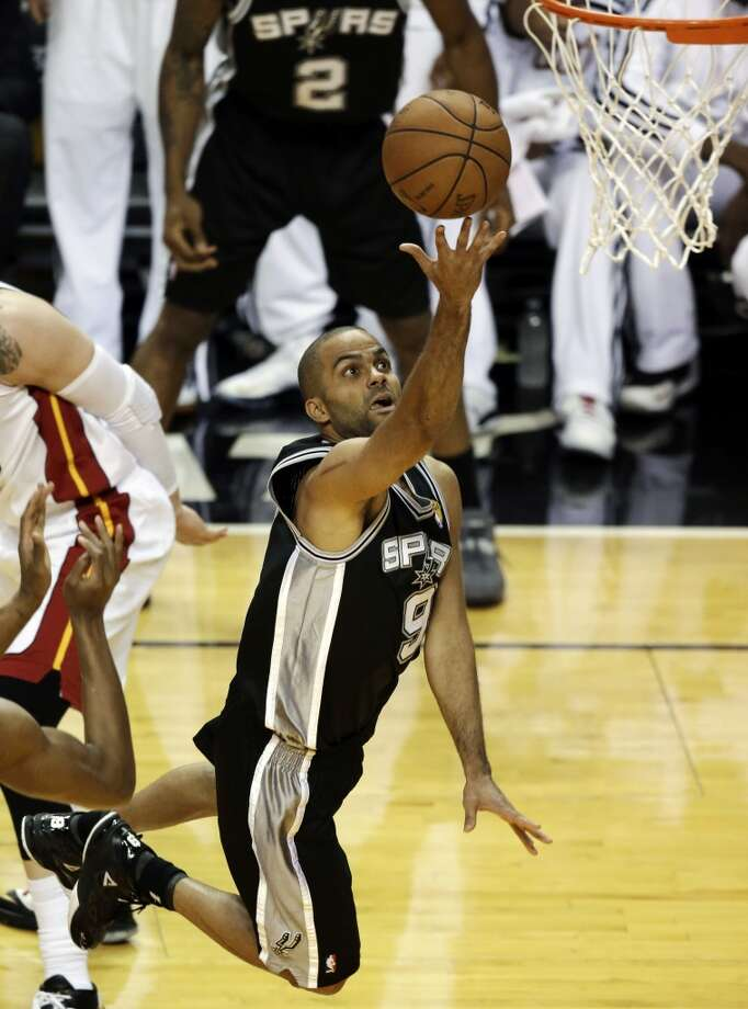 2. San Antonio Spurs  Last season: 58-24, No. 2 seed.  July forecast: If not for a bad final minute and a Ray Allen 3-pointer, the Spurs would be back as reigning NBA champions. If Oklahoma City is likely to be hungry after its postseason disappointment, the Spurs could be hung over from theirs. But Gregg Popovich won't let that last, and the sense of a window closing will remain. As expected, they kept free agents Manu Ginobili and Tiago Splitter and made a smart pickup in Marco Belinelli. With the new big three — Tim Duncan, Tony Parker and Kawhi Leonard — back, the Spurs should remain among the teams to beat. Photo: Wilfredo Lee, Associated Press