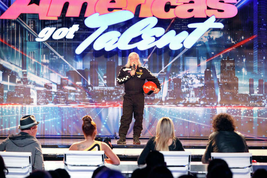 AMERICA'S GOT TALENT -- Episode 806 -- Pictured: Captain Explosion -- Photo: NBC, Skip Bolen/NBC / 2013 NBCUniversal Media, LLC.