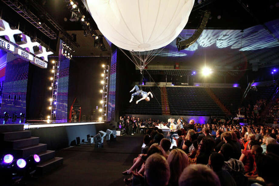 AMERICA'S GOT TALENT -- Episode 806 -- Pictured: Aerosphere Aerial Balloon -- Photo: NBC, Skip Bolen/NBC / 2013 NBCUniversal Media, LLC.