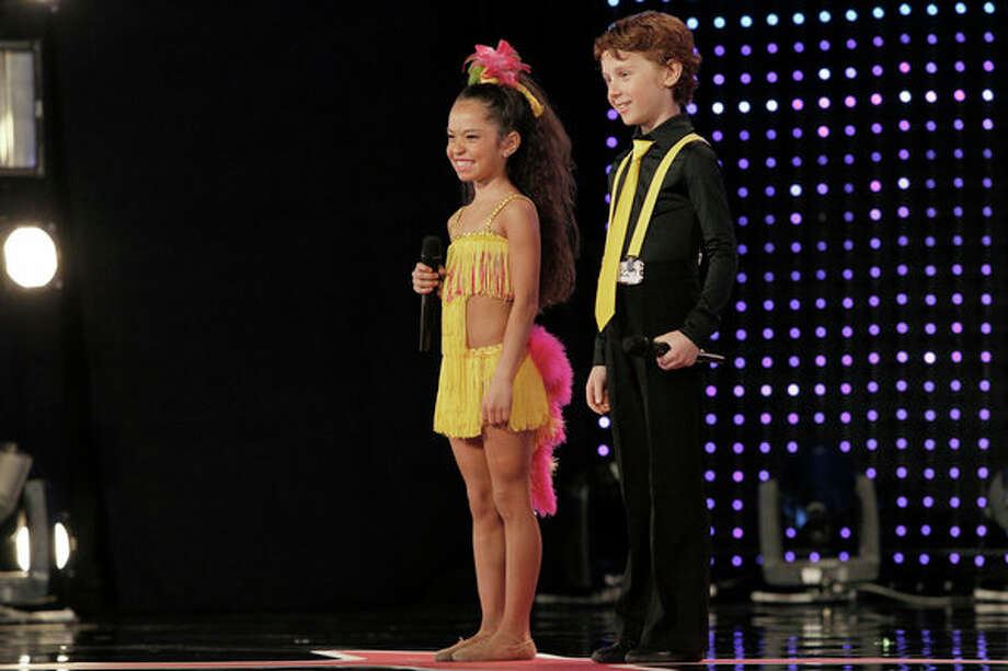 AMERICA'S GOT TALENT -- Episode 806 -- Pictured: Yasha & Daniela -- Photo: NBC, Skip Bolen/NBC / 2013 NBCUniversal Media, LLC.