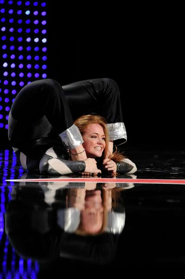 AMERICA'S GOT TALENT -- Episode 806 -- Pictured: Megan Amigo -- Photo: NBC, Virginia Sherwood/NBC / 2013 NBCUniversal Media, LLC.