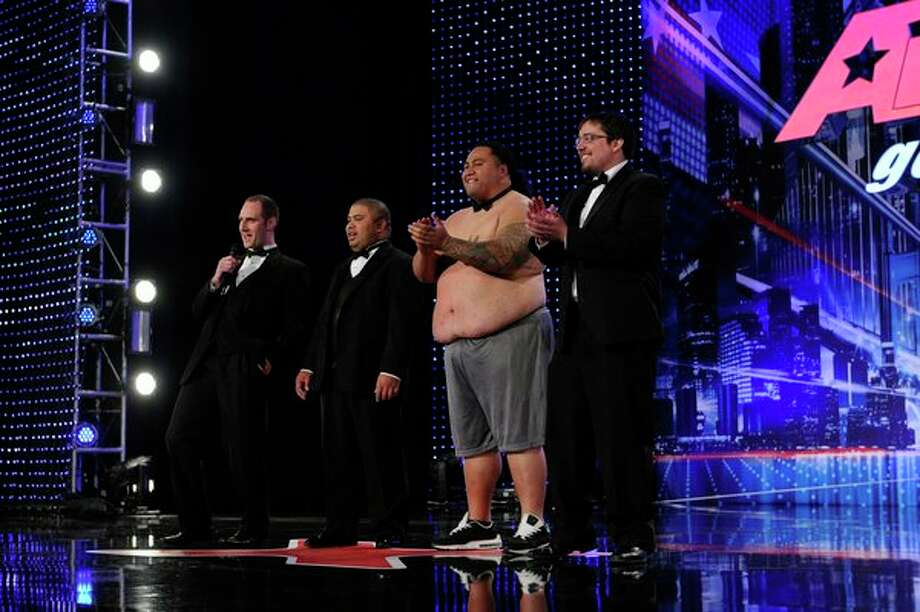 AMERICA'S GOT TALENT -- Episode 806 -- Pictured: Tummy Talk -- Photo: NBC, Virginia Sherwood/NBC / 2013 NBCUniversal Media, LLC.