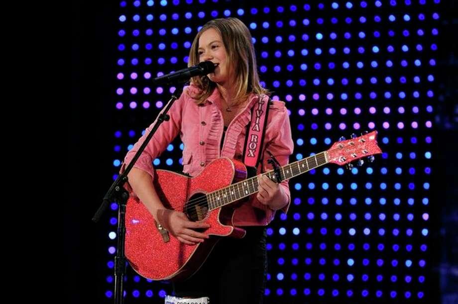 AMERICA'S GOT TALENT -- Episode 806 -- Pictured: Olivia Rox -- Photo: NBC, Virginia Sherwood/NBC / 2013 NBCUniversal Media, LLC.