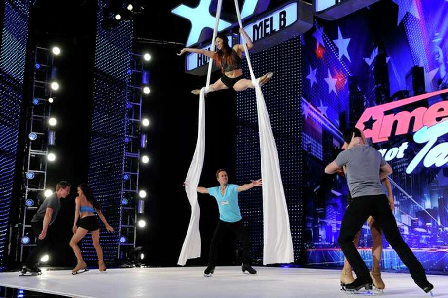 AMERICA'S GOT TALENT -- Episode 806 -- Pictured: Aerial Ice -- Photo: NBC, Virginia Sherwood/NBC / 2013 NBCUniversal Media, LLC.