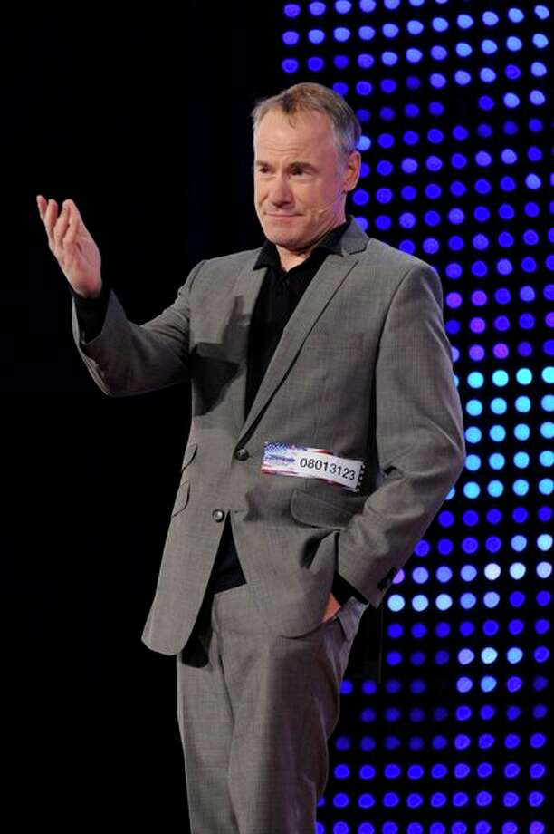 AMERICA'S GOT TALENT -- Episode 806 -- Pictured: Jim Meskimen -- Photo: NBC, Virginia Sherwood/NBC / 2013 NBCUniversal Media, LLC.