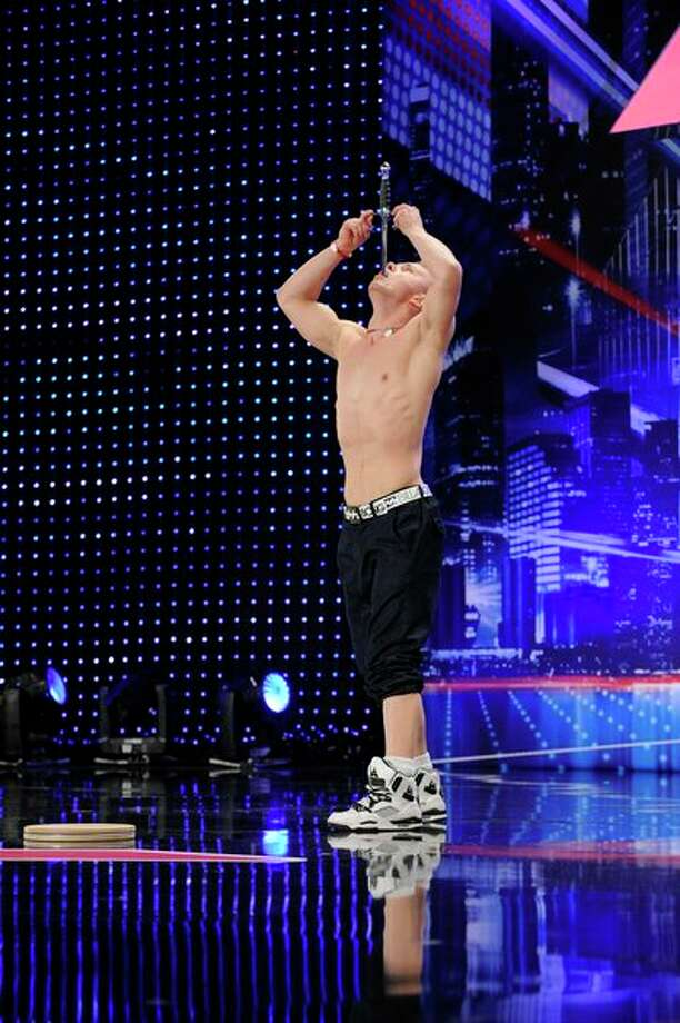 AMERICA'S GOT TALENT -- Episode 806 -- Pictured: Alex Magala -- Photo: NBC, Virginia Sherwood/NBC / 2013 NBCUniversal Media, LLC.