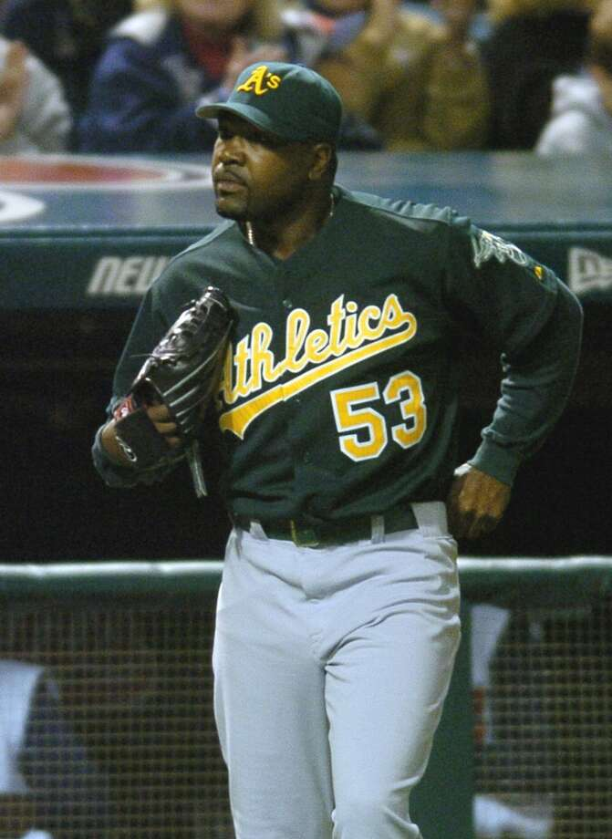 Arthur Rhodes — Manager Ken Macha thought he'd found the A's new closer when the team signed Rhodes in 2004. Instead, Rhodes ended the season with an ERA over five and was gone the next year.