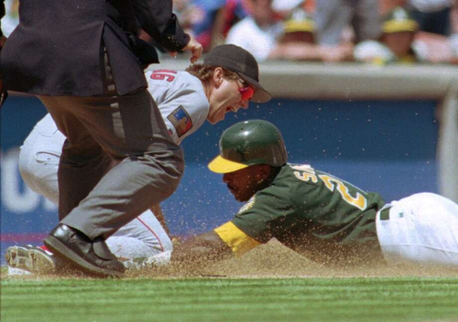 Ruben Sierra — Sierra came to Oakland as part of the trade that sent Jose Canseco to the Rangers. He was hardly a slugger to replace him. While with the A's, Sierra never hit more than 23 home runs in a single season and batted over .270 just once.