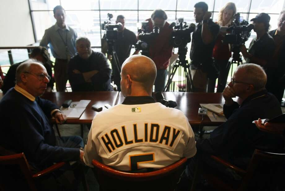 Matt Holliday — Judging by the voracious boos that receive him at the Coliseum, Holliday may be the most hated current player. In one overpaid year, Holliday hit just 11 home runs and had a scant 54 RBI after driving in 109 the year before with the Rockies.