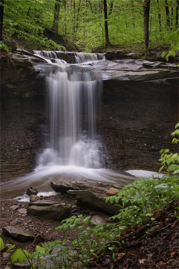 Tucked within the forests of Cuyahoga Valley National Park (Ohio) are rivers, streams and gushing waterfalls. Photo: Michael Kirkland