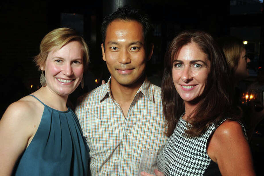 From left: Laura Kamrath, Julian Ong and Rebecca Koterwas Photo: Dave Rossman, For The Houston Chronicle / © 2013 Dave Rossman