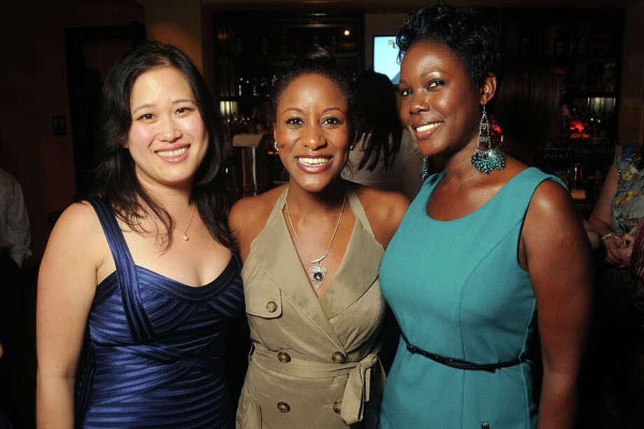 From left: Dr.Christine Le, Dr. Aisha Haynie and Kemi Kagirowa Photo: Dave Rossman, For The Houston Chronicle / © 2013 Dave Rossman