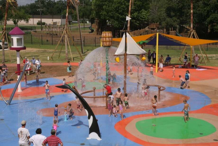 Port Neches splash park. Photo: Provided. City Of Port Neches