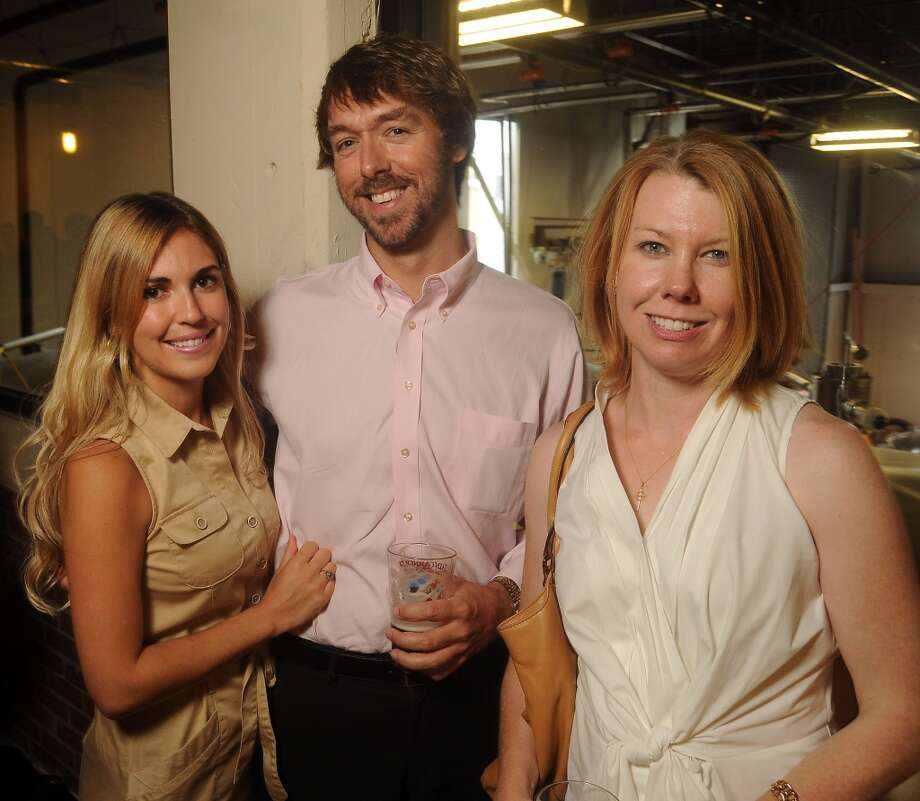 From left: Cristina Delcanto, Matthew Easterly and Anneliese Davis