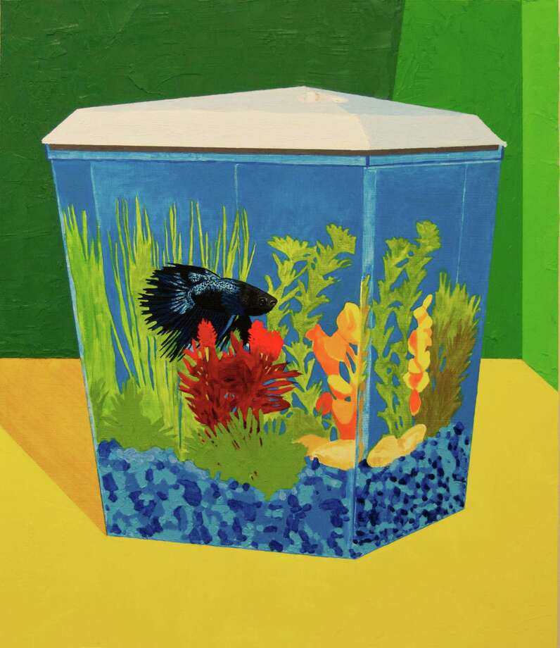 "Bradley Kerl's ""Fish Tank"" is among works selected for the Big Show 2013 at Lawndale Art Center. Photo: Bradley Kerl"