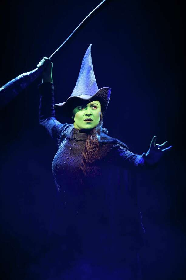 "Jennifer DiNoiain ""Wicked"" which plays the Hobby Center July 10-Aug. 11, 2013. Photo: Joan Marcus"