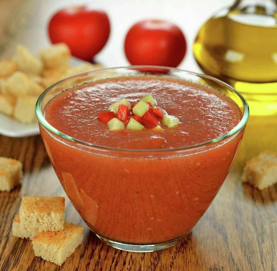 gazpacho soup/fotolia / olyina - Fotolia