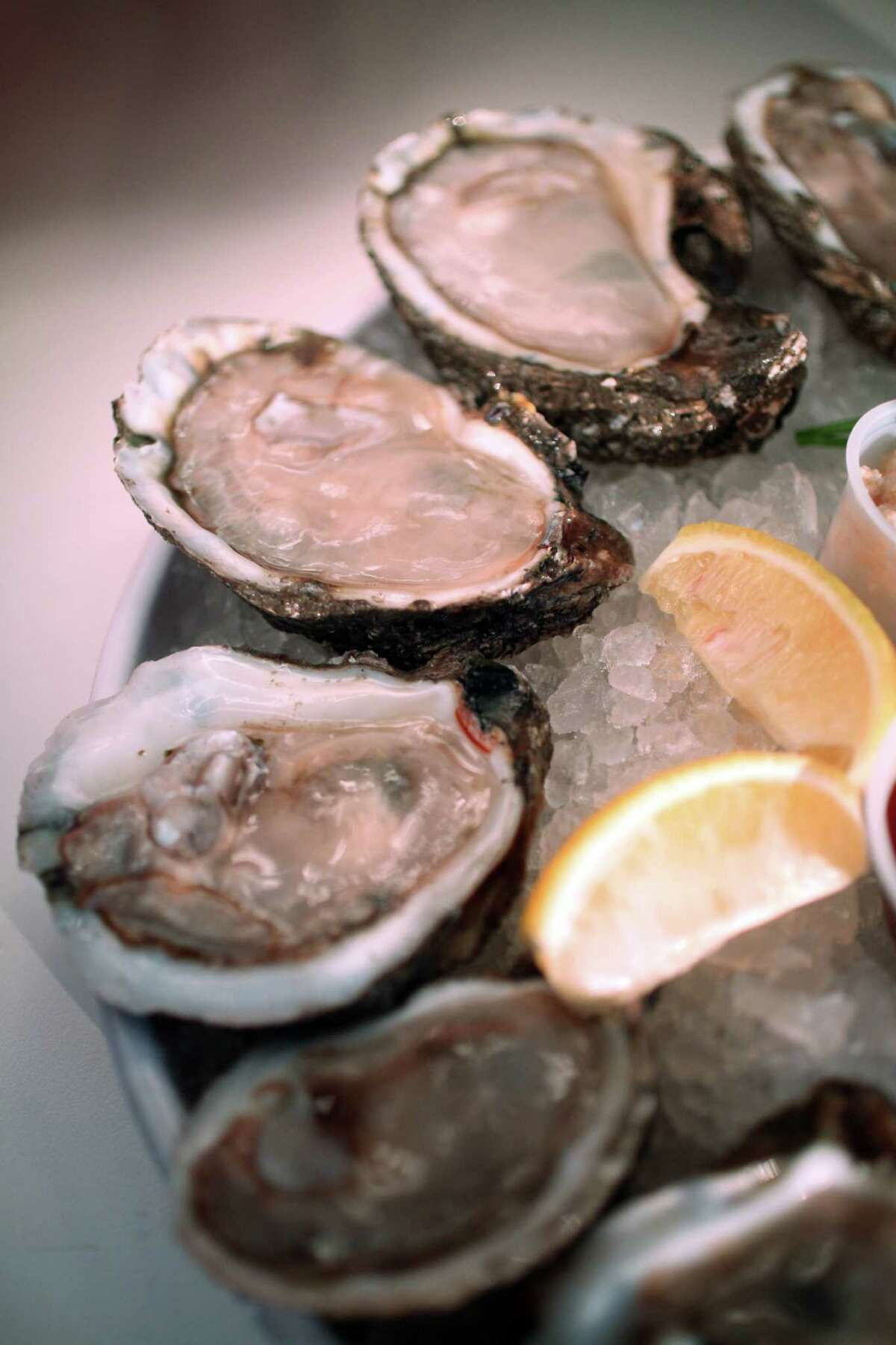 Fresh Gulf Coast Oysters served at Goode Company Seafood Restaurant