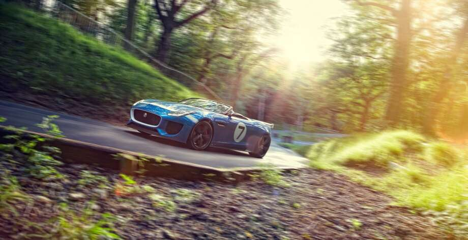 Jaguar plans to introduce its new Project 7 vehicle at the Goodwood Festival of Speed.