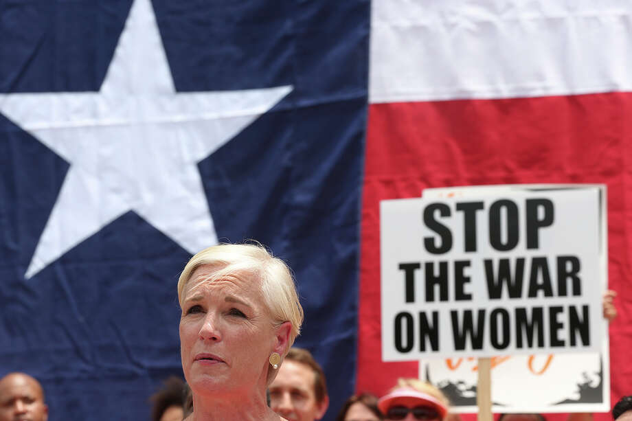 Cecile Richards, president of Planned Parenthood Federation of America and daughter the late Gov. Ann Richards, speaks at the Stand Up for Texas Women Rally at State Capitol, Monday, July 1, 2013. The anti-abortion legislation rally drew thousands of supporters. Photo: Jerry Lara, San Antonio Express-News / ©2013 San Antonio Express-News