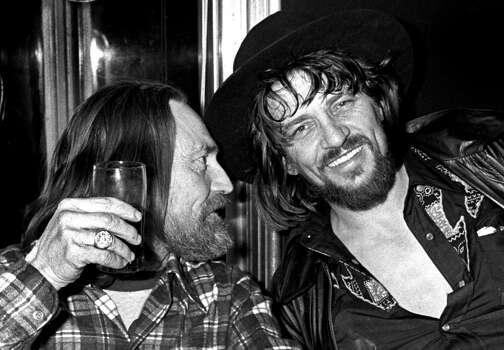 A shot with a good friend like Waylon Jennings Photo: Richard E. Aaron, Redferns