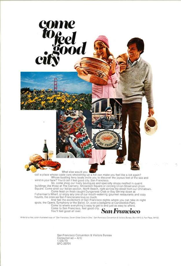 Vintage tourism ads for San Francisco.