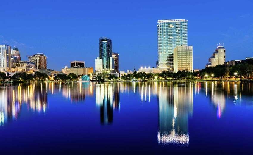 9. Orlando-Kissimmee, Fla. Heat index: 91.6