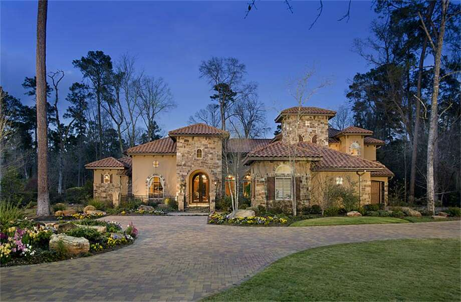 This $2.3 million home features five bedrooms and five bathrooms in more than 7,100 square feet of living space.