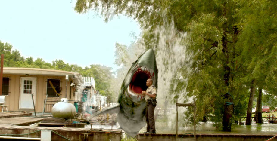 "Swamp Shark (2011)""An animal smuggling deal goes wrong, resulting in a large shark escaping into the swampy backwoods river."" Photo: Syfy"