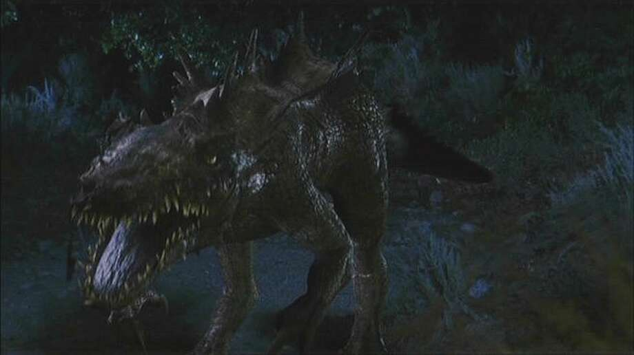 "Dinocroc"" (2004) Dinocroc is presumably one of Dinoshark's genetically modified cousins. Photo: Syfy"
