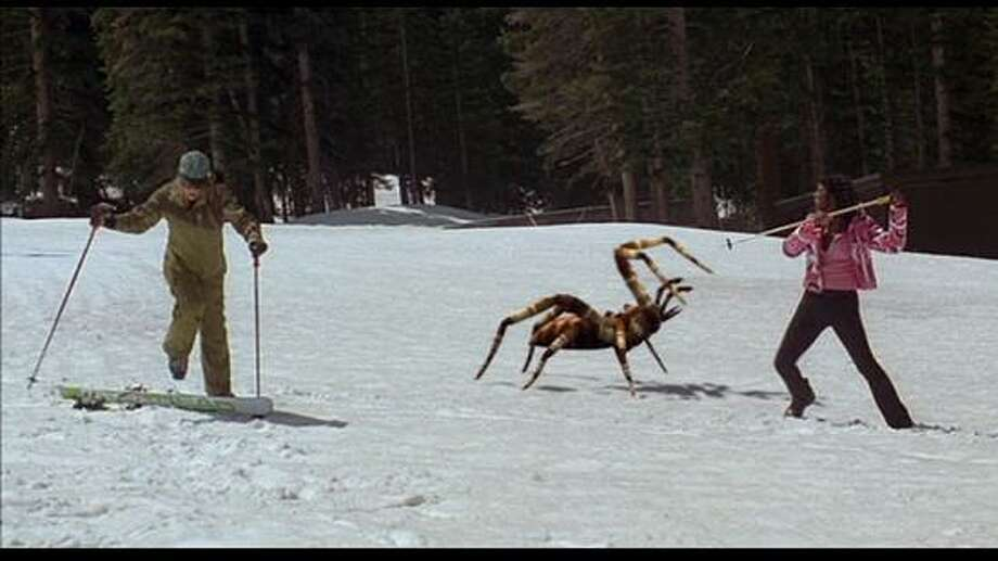 Ice Spiders (2005) It's not so much the ice that make the ice spiders so scary, but rather their alarming size. Photo: Syfy