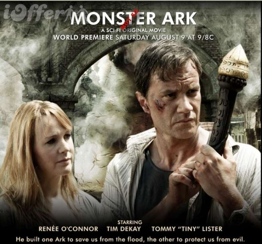 """Monster Ark"" (2008) Funny how the Bible neglects to mention Noah's second ark, the one FILLED WITH MONSTERS."