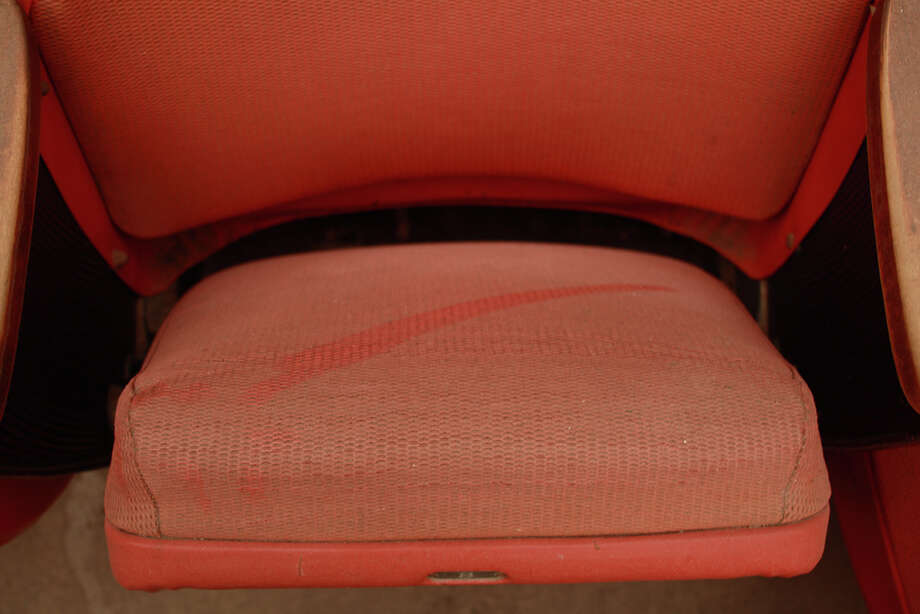 Dusty seats.