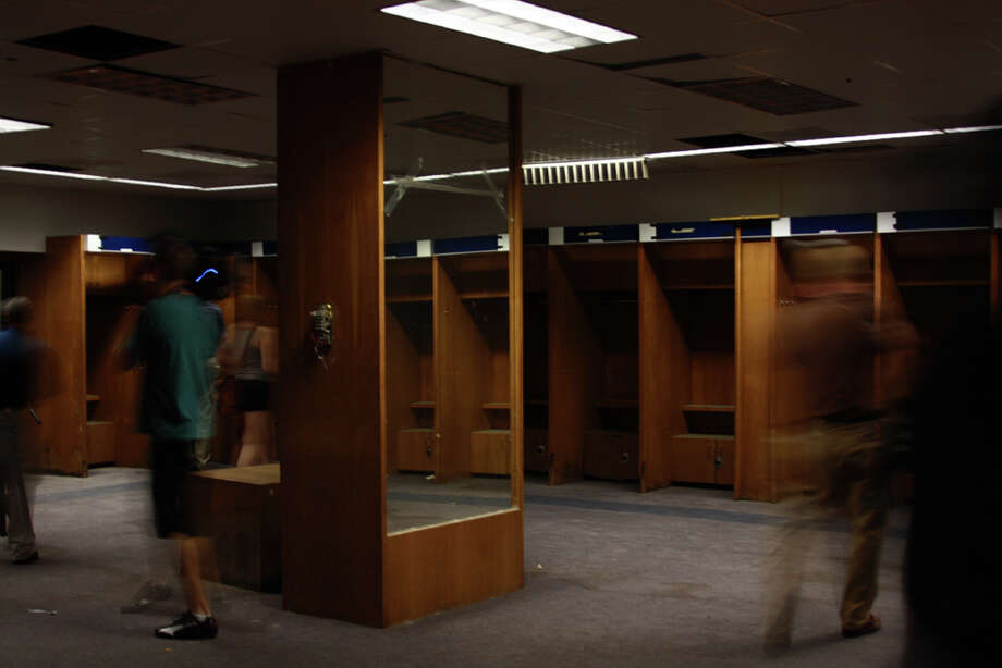 Astros locker room.