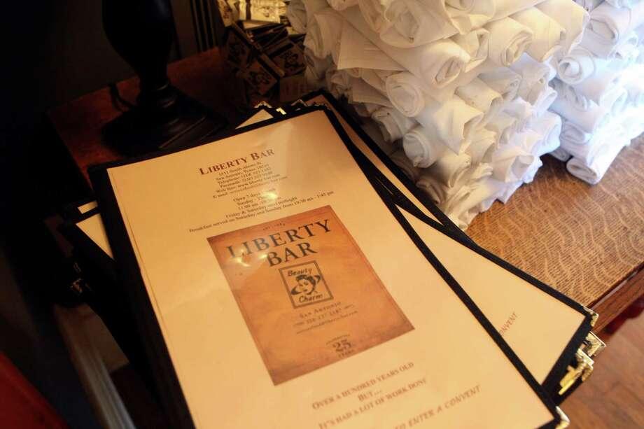 Liberty Bar at the Convent, 1111 S. Alamo St. (210) 524-2416 Photo: HELEN L. MONTOYA, SAN ANTONIO EXPRESS-NEWS / hmontoya@express-news.net