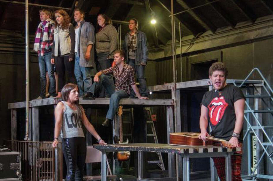 """Rent"" is on stage at The Brookfield Theatre for the Arts (TBTA) and runs through Saturday, July 27. Photo: Contributed Photo"