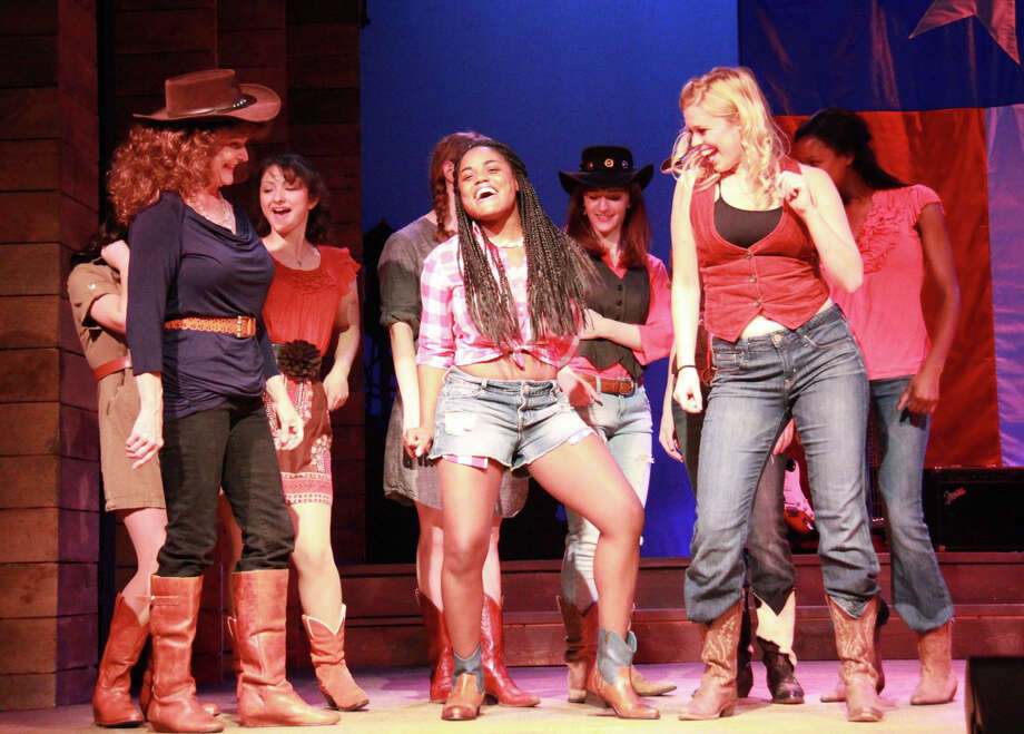 "The stage adaptation of the 1984 hit film ""Footloose"" is being presented at the Ivoryton Playhouse in Essex through July 28. Photo: Contributed Photo"