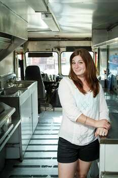 """Third Coast food truckIn the past year and a half, Third Coast food truck's Ruth Lipsky (which used to be called Stick It) has turned  all sorts of gourmet foods - brie, anyone? - into street food by serving  them on sticks. (While the concept was creative enough to earn Lipsky a  turn on the Cooking Channel show """"Eat Street,"""" it had a few drawbacks. """"Surprisingly, it's very limited, the things that will stay on a  stick,"""" said Lipsky. """"Plus, with Stick It, we weren't able to do late  night ... I just couldn't explain to drunk people what couscous salad on  a stick was. I just didn't have it in me.""""One thing you might not know about Lipsky:""""The last book I read, if I'm going to be completely honest, is 'Twilight.' I'm kind of on a vampire kick right now."""" Photo: Michael Paulsen, Staff / © 2013 Houston Chronicle"""