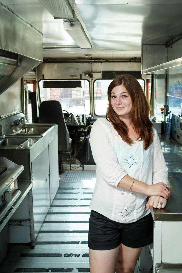 """Third Coast food truckIn the past year and a half, Third Coast food truck's Ruth Lipsky (which used to be called Stick It) has turned  all sorts of gourmet foods - brie, anyone? - into street food by serving  them on sticks. (While the concept was creative enough to earn Lipsky a  turn on the Cooking Channel show """"Eat Street,"""" it had a few drawbacks.""""Surprisingly, it's very limited, the things that will stay on a  stick,"""" said Lipsky. """"Plus, with Stick It, we weren't able to do late  night ... I just couldn't explain to drunk people what couscous salad on  a stick was. I just didn't have it in me.""""One thing you might not know about Lipsky:""""The last book I read, if I'm going to be completely honest, is 'Twilight.' I'm kind of on a vampire kick right now."""" Photo: Michael Paulsen, Staff / © 2013 Houston Chronicle"""