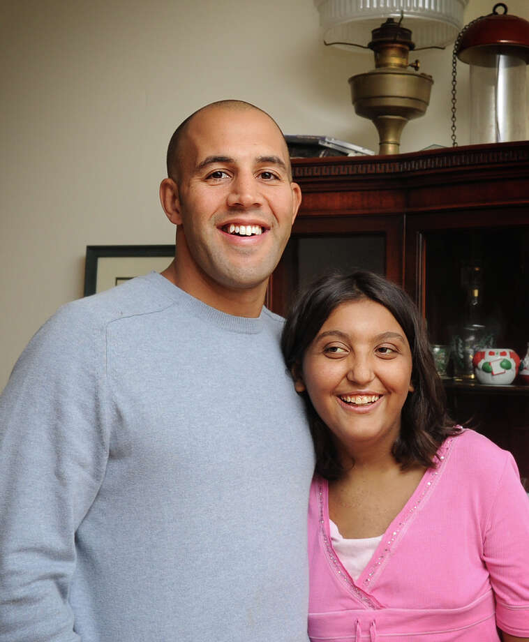 In 2010, Trumbull police officer Michael Gonzalez donated part of his liver to then fifteen-year-old Kyleigh Leos, the daughter of Trumbull police officer Jay Leos. Kyleigh, 18, died Tuesday July 9, 2013. Photo: Autumn Driscoll, File Photo / Connecticut Post