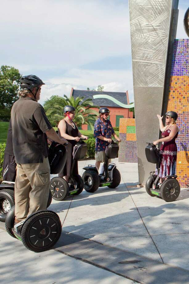 iGlidenola! Segway tours in New Orleans take visitors to historical points of interest in the city. Photo: Beastman Creative