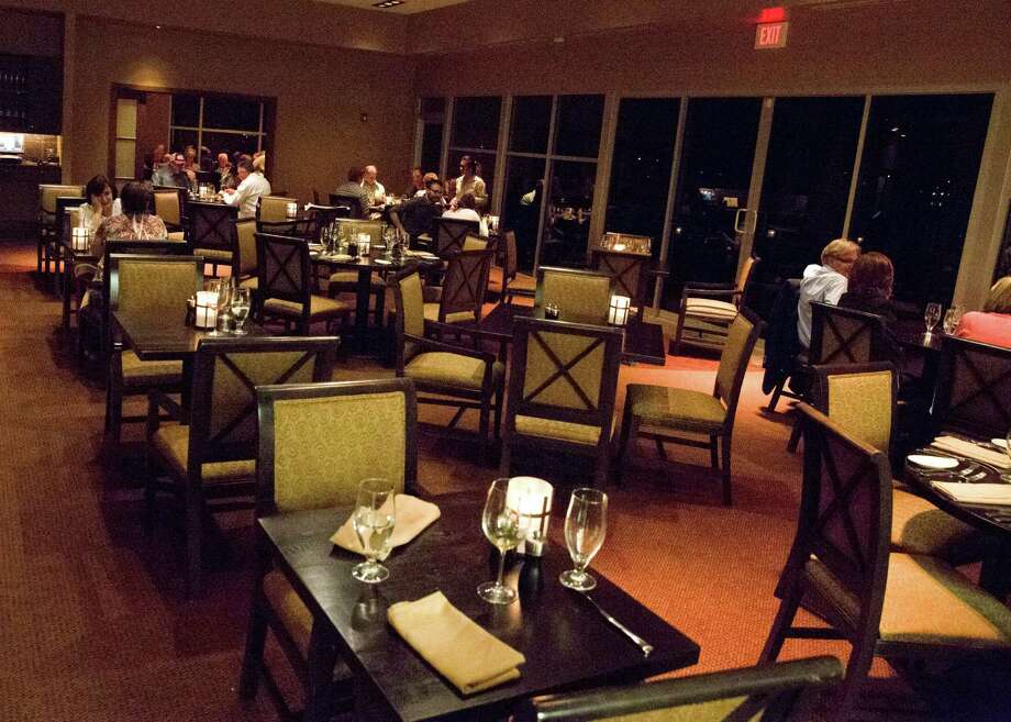 Interior of Lakeside restaurant at La Torretta Lake Resort & Spa on Lake Conroe in Montgomery. Photo: La Torretta / La Torretta